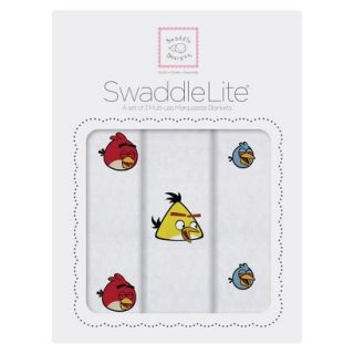 Swaddle Designs Angry Birds Baby SwaddleLite   Yellow, Red, Blue