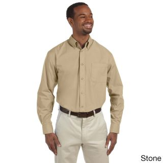 Mens Essential Poplin Button down Shirt