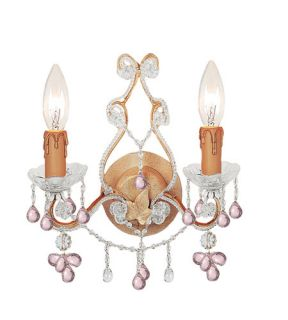 Paris Flea Market 2 Light Wall Sconces in Champagne 4522 CM