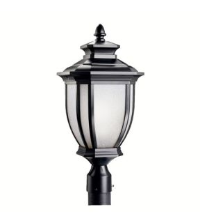 Salisbury 1 Light Post Lights & Accessories in Black (Painted) 9938BK