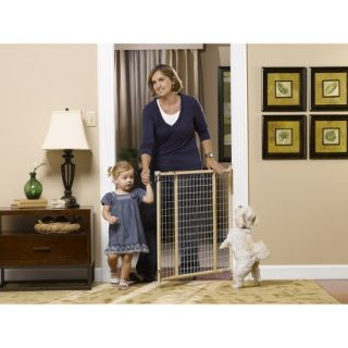 GuardMaster II 380 Tall Wire Mesh Swing Baby and Pet Gate