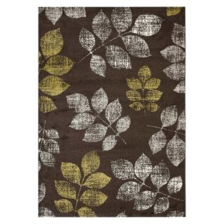 Safavieh Botanical Area Rug   Brown/Green (67x96)