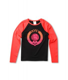 Roxy Kids Roxy Bonfire Sand Dancer Rashguard Girls Swimwear (Black)