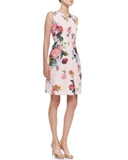 Womens Deavon Oil Painting Print Sheath Dress   Ted Baker London