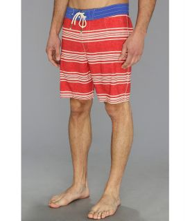 Sperry Top Sider Sailaway Stripe Boardshort Mens Swimwear (Red)