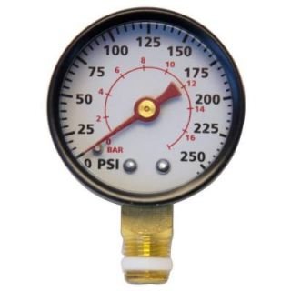 Campbell Hausfeld 1/8 in. NPT 200 PSI Pressure Gauge Kit GR004400AJ