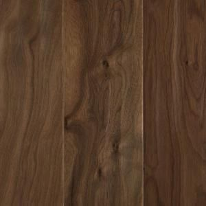 Mohawk Natural Walnut 1/2 in. x 5.25 in. x Random Length Soft Scraped Engineered UNICLIC Hardwood Flooring (23 sq. ft. / case) HUWS5 04