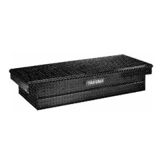 Lund 70 in. Crossbed Full Size Black Aluminum Push Button Tool Box LALF2870PBBK