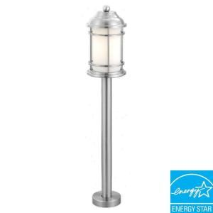 Eglo Portici 1 Light Outdoor Stainless Steel Post Light 20641A