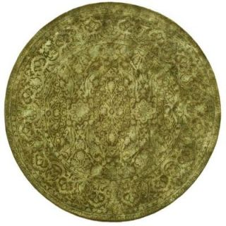 Safavieh Silk Road Sage 8 ft. x 8 ft. Round Area Rug SKR213D 8R