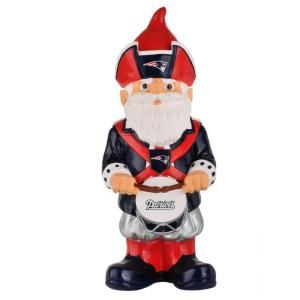 Forever Collectibles 11 1/2 in. New England Patriots NFL Licensed Team Thematic Garden Gnome Statue 145175