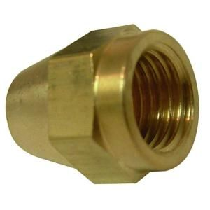 Watts 1/2 in. Brass Short Rod Flare Nut A 260
