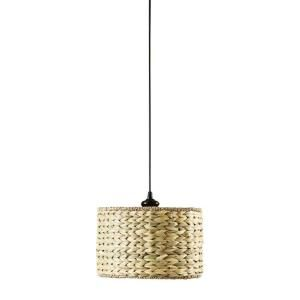 Home Decorators Collection Kisha Natural 12 in. Instant Pendant Light Conversion Kit 0888400810