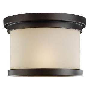 Sea Gull Lighting Winnetka 1 Light Hanging/Ceiling Outdoor Misted Bronze Pendant Fixture 78660 814