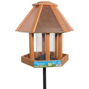 Audubon Going Green Coppertop Gazebo Bird Feeder DISCONTINUED NAGGGAZEBO