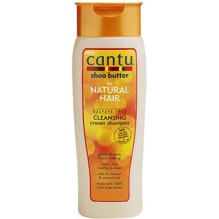 Cantu Shea Butter For Natural Hair Sulfate Free Cleansing Cream Shampoo, 13.5 fl oz Hair Care