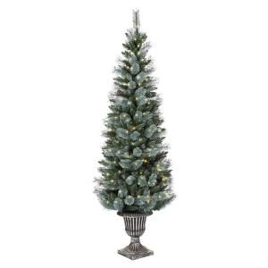 Martha Stewart Living Arctic 6.5 ft. Pre Lit Christmas Tree with Clear Lights TY165 1217