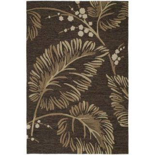 Kaleen Home & Porch Palmyra Chocolate 3 ft. x 5 ft. Area Rug 2025 40 3x5