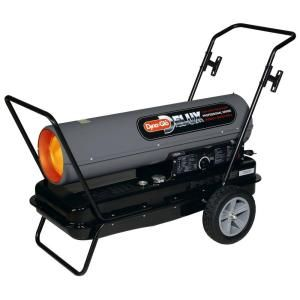 Dyna Glo Delux 170K or 210K BTU Forced Air Kerosene Portable Heater KFA210DGD