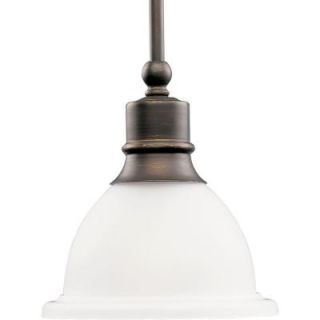 Progress Lighting Madison Collection 1 Light Antique Bronze Mini Pendant P5078 20
