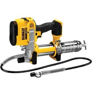 DEWALT 20 Volt Max Cordless Grease Gun (Tool Only) DCGG571B