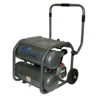 California Air Tools 5 Gal. 2 HP Steel Twin Tank Oil Lubricated Air Compressor 250DLT