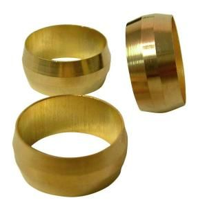 Watts 3/8 in. Brass Compression Sleeve A 102