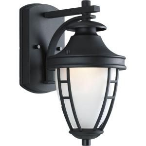 Progress Lighting Fairview Collection Wall Mount Outdoor Black Lantern P5492 31