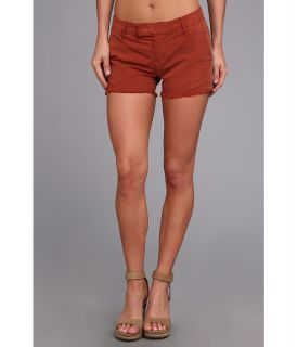 Lucky Brand Sienna Cut Off Chino Womens Shorts (Orange)