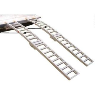 Great Day 12 in. x 89 in. Max Arch Folding Loading Ramps Set LL12894F