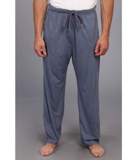 Tommy Bahama Big Tall Heather Cotton Modal Jersey Lounge Pant Mens Pajama (Blue)
