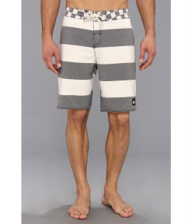 Quiksilver Brigg Scallop Boardshort Mens Swimwear (White)