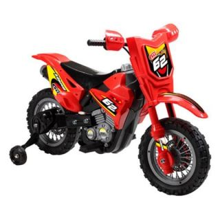Mini Motos Dirt Bike Motorcycle Battery Powered Riding Toy   Red Kids Bikes & Riding Toys