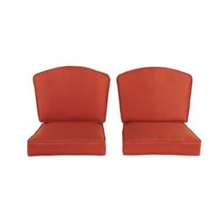 Hampton Bay Rosemarket Replacement Patio Chair Cushion (2 Pack) XSC 1786
