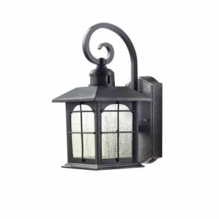 Home Decorators Collection Outdoor Aged Iron Motion Sensing LED Wall Lantern HB7251 292
