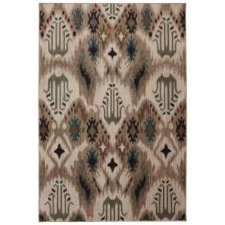 Mohawk Home Summit Pass Light Beige 3 ft. 6 in. x 5 ft. 6 in. Area Rug 386504