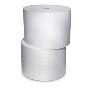 Pratt Retail Specialties 1/8 in. x 12 in. x 550 ft. Perforated 4 Roll Bundle Perforated Foam Cushion PAF1254S12P12B