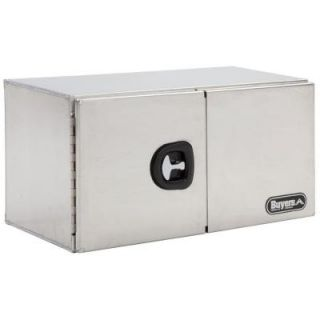 Buyers Products Company 60 in. Smooth Aluminum Double Barn Door Underbody Tool Box 1705315