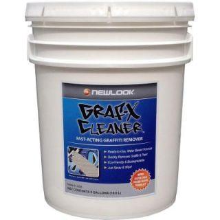 Graf X Cleaner 5 gal. Graffiti and Paint Remover GRFXCLNR5G