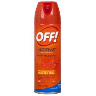 6 oz. Active Insect Repellent Aerosol Spray SCJ611079