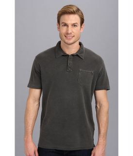 Lucky Brand Double Knit Polo Mens Short Sleeve Pullover (Multi)