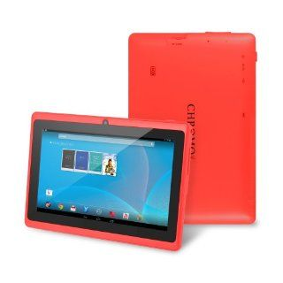 "Chromo Inc� 7""   Tab PC Android Capacitive 5 Point Multi Touch Screen   Red [New Model March 2014] Computers & Accessories"