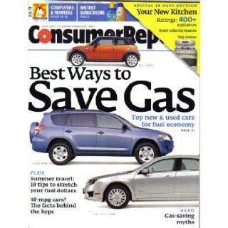 Consumer Reports Magazine July 2011 (Number 7) Consumers Union, Leslie Ware Books