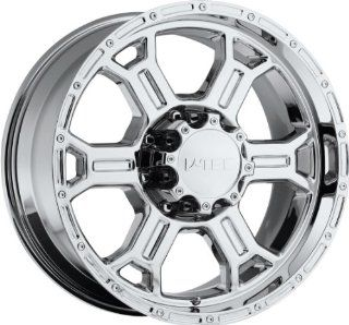V Tec Raptor 18 Chrome Wheel / Rim 5x5.5 with a 18mm Offset and a 108 Hub Bore. Partnumber 372 8985C18 Automotive