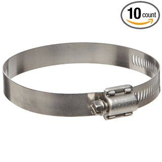 Dixon HSS Series Stainless Steel 300 Worm Gear Hose Clamp