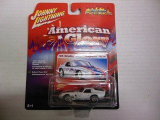 1965 Shelby Cobra Daytona Number 16 164 Scale Die Cast Car American Glory By Johnny Lightning and Street Freaks  Other Products