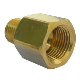 LASCO 17 6785 3/8 Inch Female Flare by 1/4 Inch Male Pipe Thread Brass Adapter   Pipe Fittings