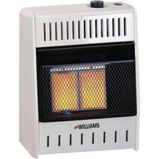 Williams 16,000 Btu/hr Infrared Heater Propane Gas with Automatic Thermostat 1686511