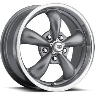 Rev Classic 100 15 Gray Wheel / Rim 5x4.5 with a 0mm Offset and a 72.7 Hub Bore. Partnumber 100S 5606500 Automotive