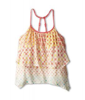 Roxy Kids Wind Chime Tank Girls Sleeveless (Multi)